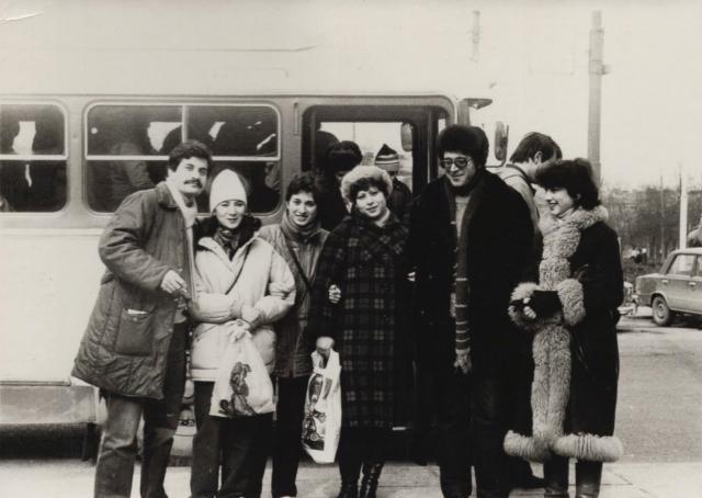 Евреи СССР движение отказников Ленинград Пурим в Вильнюсе
