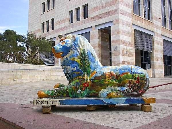Иерусалимские львы и приход Машиаха колонка Анат Брусиловски