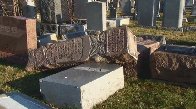 ВРочестере вандалы разрушили надгробия наеврейском кладбище